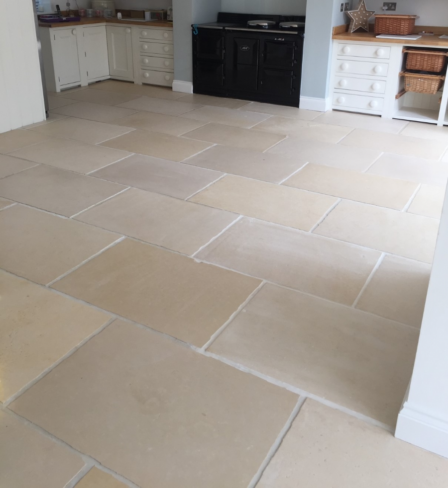 Sandstone Floor Cleaning