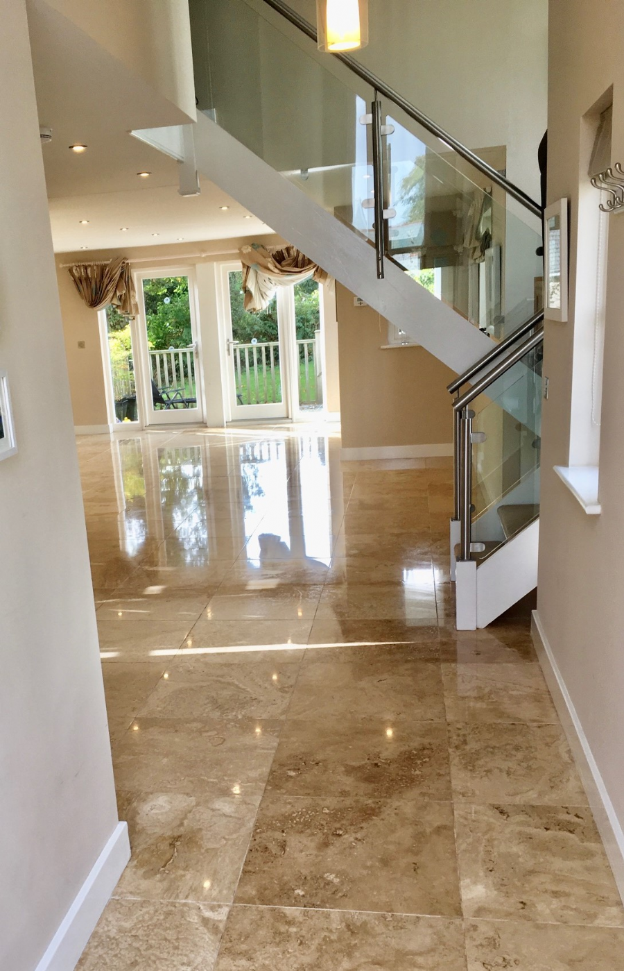 Travertine Floor Cleaning